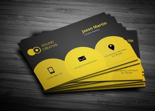 Card visit cá tính dành cho cá nhân