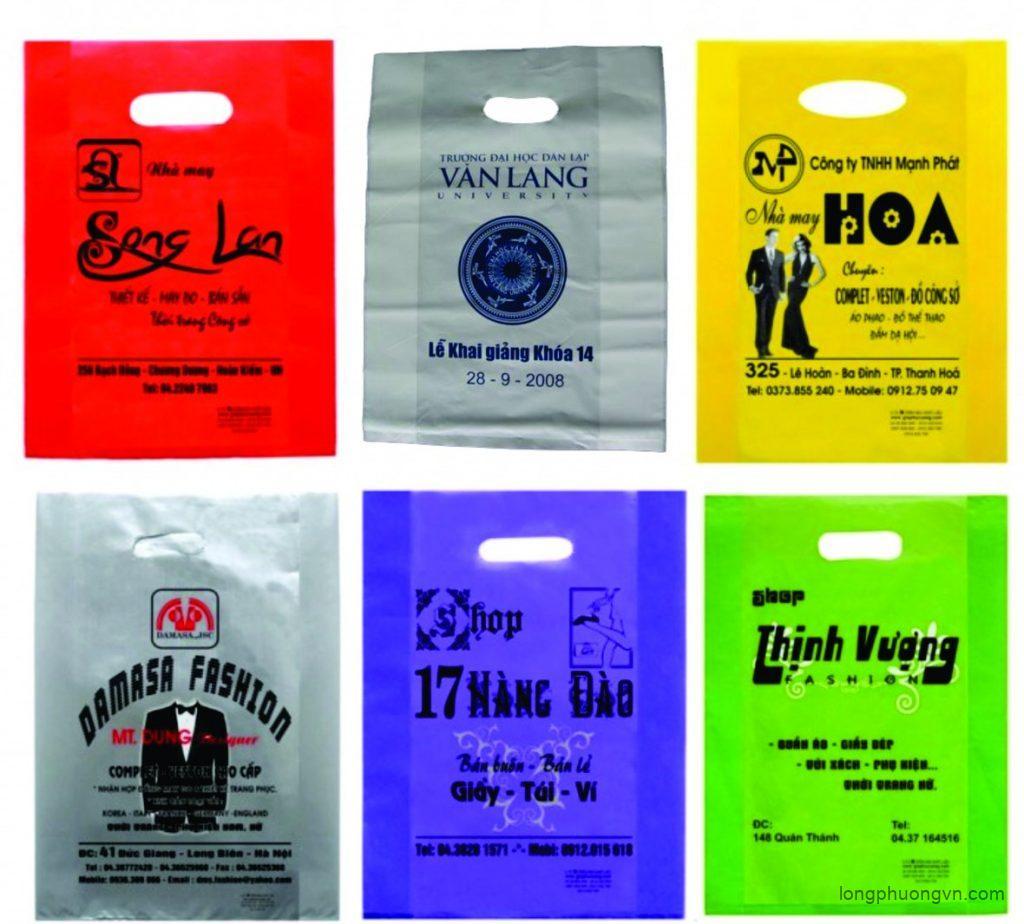 Dịch vụ in túi nilon công nghiệp giá rẻ tại In Long Phượng