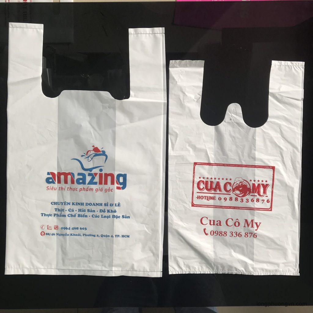 Mẫu túi nilon siêu thị đẹp - Mẫu số 2